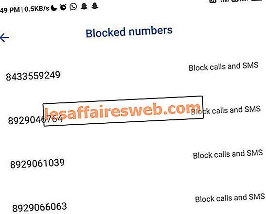 Blokir Pesan Teks Dari Nomor Tertentu Di Android