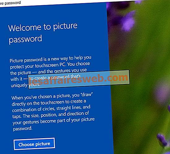 Cara Menambahkan Kata Sandi Gambar di Windows 10