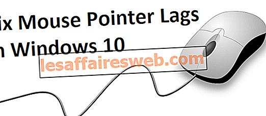 Mouse Pointer Tertunda di Windows 10