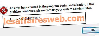 Behebung des Fehlers 0x80070002 beim Erstellen eines neuen E-Mail-Kontos