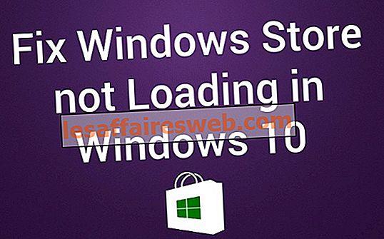 Windows 10でWindowsストアが読み込まれない問題を修正