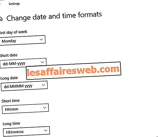 Windows 10에서 날짜 및 시간 형식을 변경하는 방법