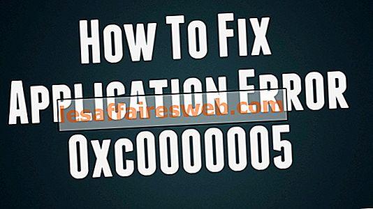 Come correggere l'errore dell'applicazione 0xc0000005