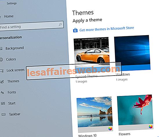 Cara Mengubah Tema, Layar Kunci & Wallpaper di Windows 10