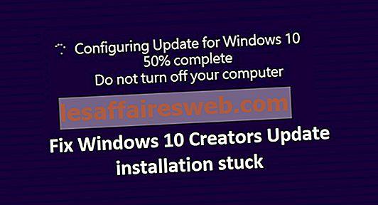 Instalasi Pembaruan Windows 10 Creators macet