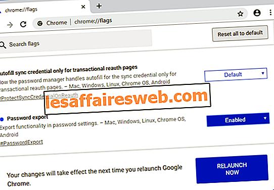 保存されたパスワードをGoogle Chromeにエクスポートする方法