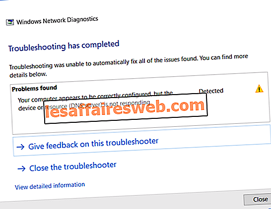 DNS-сервер не отвечает ошибка
