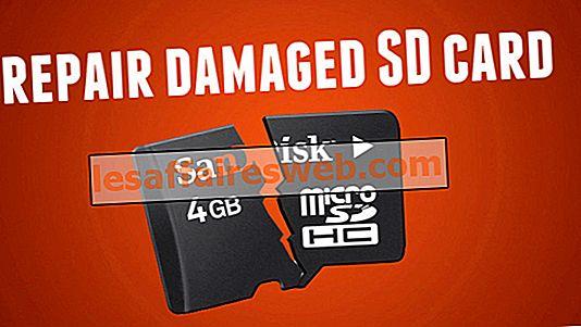 Cara memperbaiki kartu SD atau USB Flash Drive yang rusak