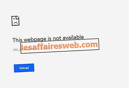 Betulkan Err_Connection_Closed dalam Chrome