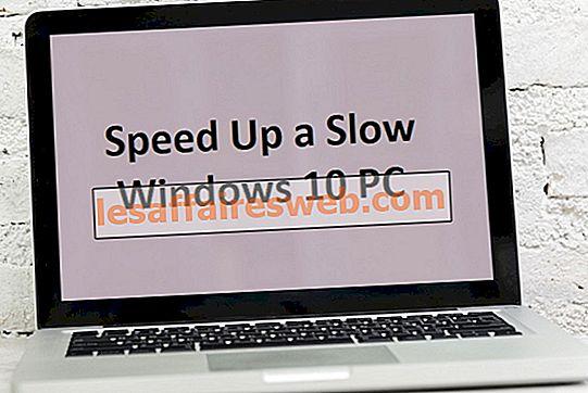 15 façons d'accélérer un PC Windows 10 lent