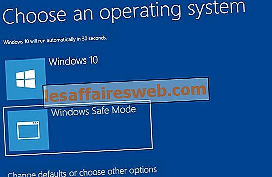 Bagaimana Menambah Mod Selamat ke Menu Boot dalam Windows 10