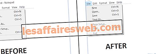 Aktifkan atau Nonaktifkan Pintasan Kunci Akses Garis Bawah pada Windows 10