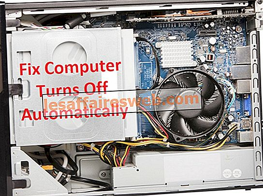 컴퓨터가 자동으로 꺼지는 문제를 해결하는 방법