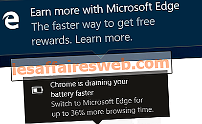 Nonaktifkan Windows 10 Microsoft Edge Notification