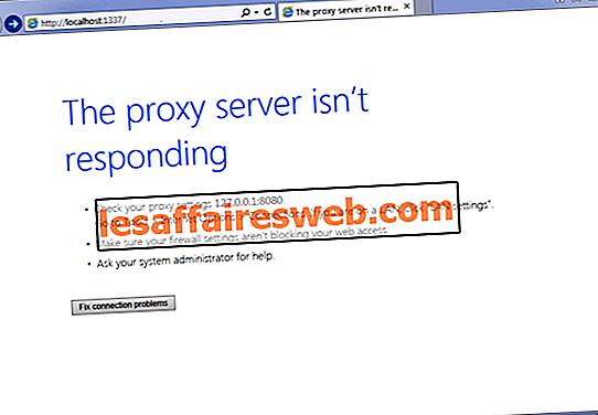 Come risolvere Il server proxy non risponde