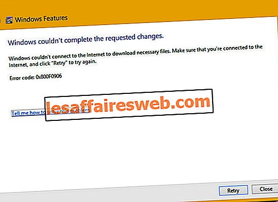 Windowsが要求された変更を完了できなかったのを修正