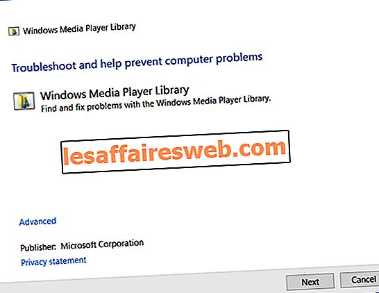 Windows Media Player Mediaライブラリが破損しているというエラーを修正する