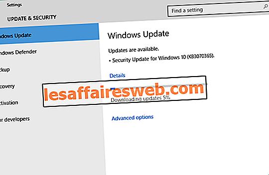 Pembaruan Windows macet mengunduh pembaruan