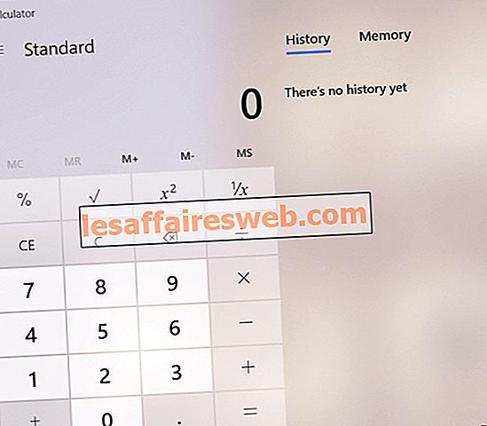 Исправить отсутствие или исчезновение калькулятора Windows 10