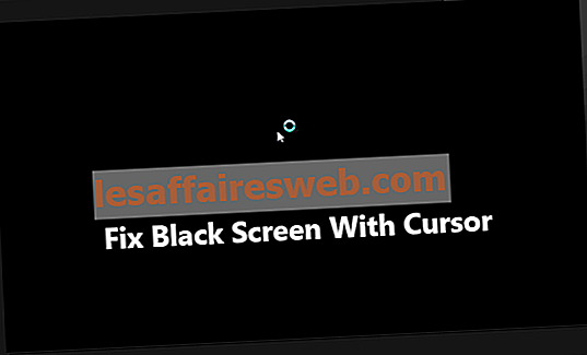 Fix Windows 10 Black Screen mit Cursor