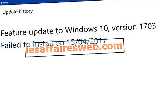 Pembaruan Windows 10 Creator gagal diinstal