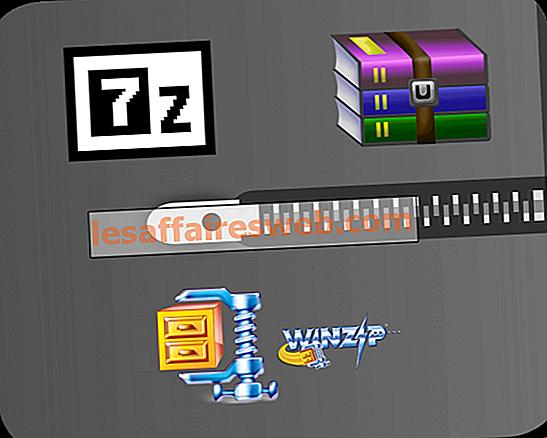 7-Zip vs WinZip vs WinRAR (miglior strumento di compressione dei file)