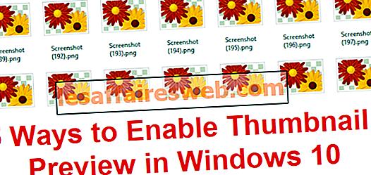 Windows 10でサムネイルプレビューを有効にする5つの方法