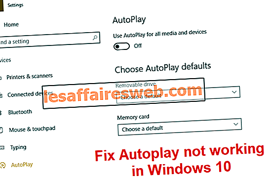 Perbaiki Autoplay tidak berfungsi di Windows 10