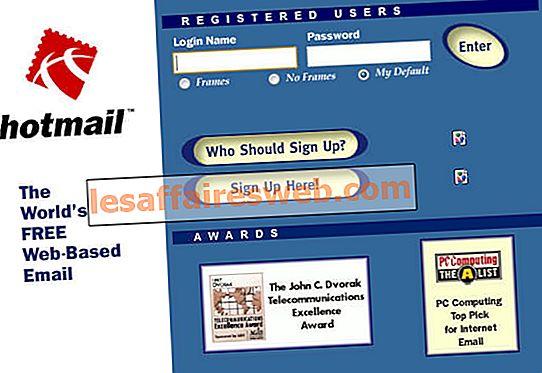 Perbedaan antara Hotmail.com, Msn.com, Live.com & Outlook.com?