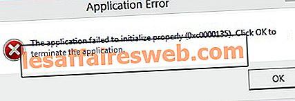 Fix L'application n'a pas pu s'initialiser correctement