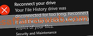 Исправить Reconnect вашего диска предупреждение в Windows 10