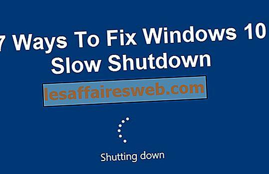 7 modi per risolvere l'arresto lento di Windows 10