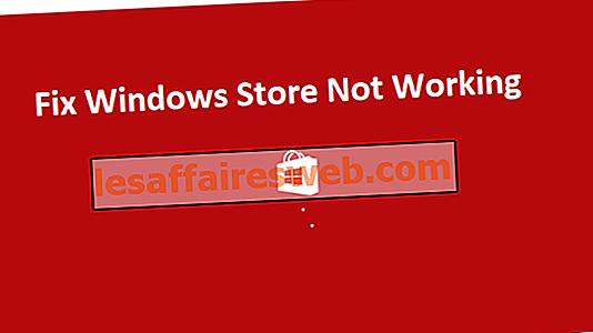4 façons de réparer le Windows Store ne fonctionne pas