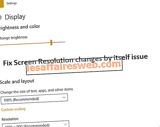 Fix Bildschirmauflösungsänderungen von selbst