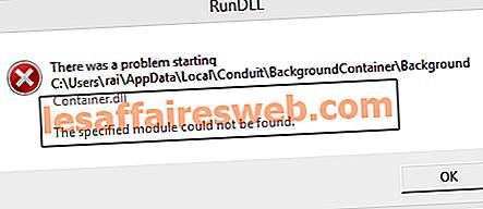 Behebung des BackgroundContainer.dll-Fehlers beim Start