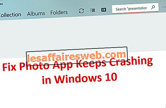 Foto-App stürzt in Windows 10 immer wieder ab