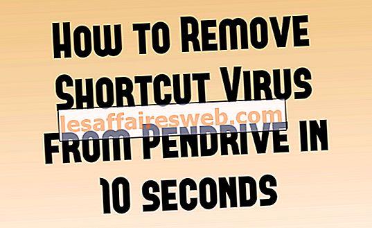 Supprimer définitivement le virus de raccourci de Pen Drive