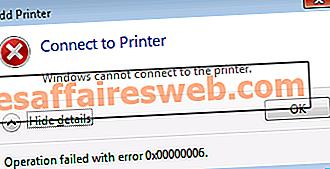 Windows Tidak Boleh Sambungkan ke Pencetak