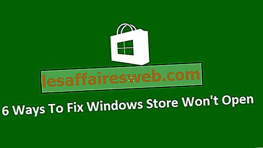 6 modi per risolvere Windows Store non si aprono