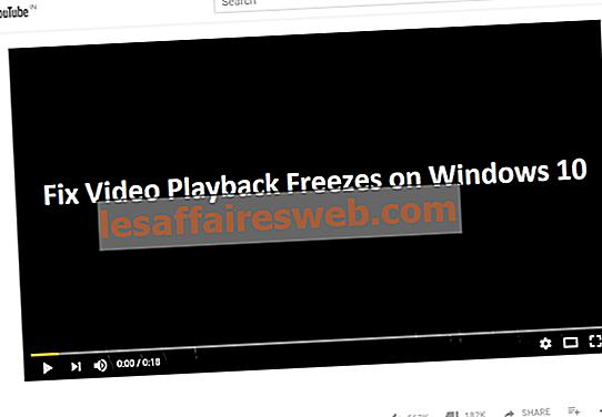 Correction des blocages de lecture vidéo sur Windows 10