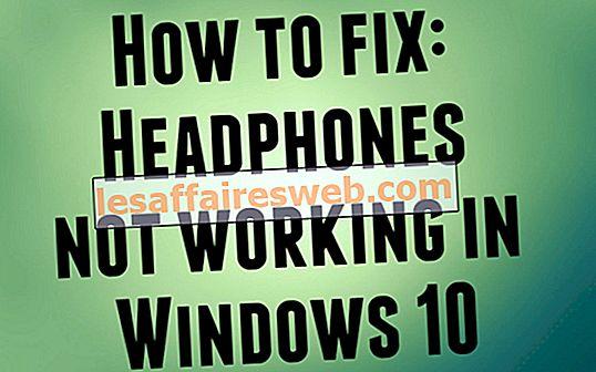 So beheben Sie Kopfhörer, die unter Windows 10 nicht funktionieren