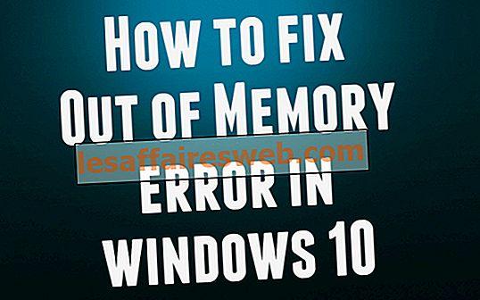 So beheben Sie einen Speichermangel in Windows 10